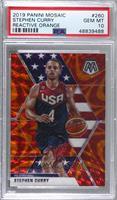 USA Basketball - Stephen Curry [PSA10GEMMT]