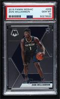 Rookies - Zion Williamson (Blue Jersey) [PSA 10 GEM MT]