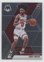 Rookie Image Variation - Coby White (White Jersey)