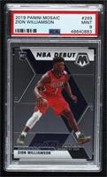 NBA Debut - Zion Williamson [PSA 9 MINT]
