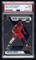 NBA Debut - Zion Williamson [PSA10GEMMT]