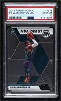 NBA Debut - PJ Washington Jr. [PSA10GEMMT]