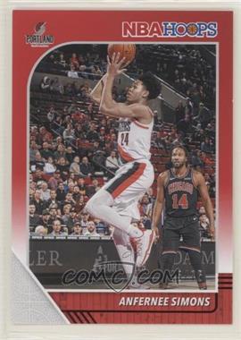 2019-20 Panini NBA Hoops - [Base] - Red #268 - Anfernee Simons /75