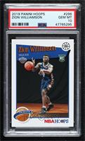Hoops Tribute - Zion Williamson [PSA 10 GEM MT]