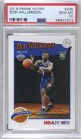 Hoops Tribute - Zion Williamson [PSA10GEMMT]