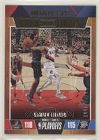 First Round - Damian Lillard #/2,019