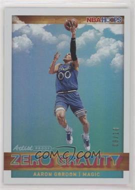 2019-20 Panini NBA Hoops - Zero Gravity - Artist Proof Gold #10 - Aaron Gordon /10