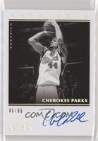 Cherokee Parks #/99
