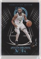 Association Edition - Jaylen Brown #/1
