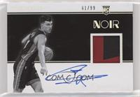 Rookie Patch Autographs Black and White - Tyler Herro #/99