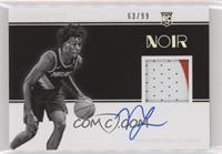 Rookie Patch Autographs Black and White - Nassir Little #/99