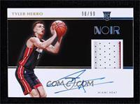 Rookie Patch Autographs Color - Tyler Herro #/99