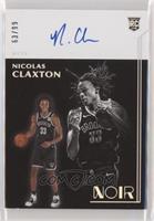 Rookie Autographs - Nicolas Claxton #/99