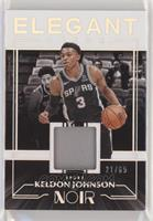 Keldon Johnson #/65