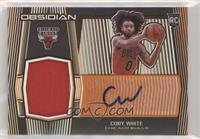Rookie Jersey Autographs - Coby White #/50