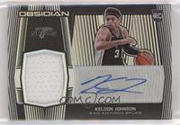 Rookie Jersey Autographs - Keldon Johnson #/99