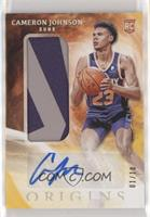 Rookie Jersey Autographs - Cameron Johnson [EX to NM] #/10