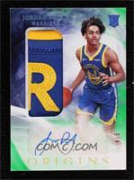 Rookie Jersey Autographs - Jordan Poole #/5