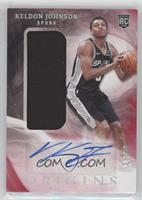 Rookie Jersey Autographs - Keldon Johnson #/99