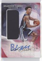 Rookie Jersey Autographs - Brandon Clarke #/99