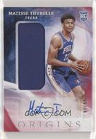 Rookie Jersey Autographs - Matisse Thybulle #/99