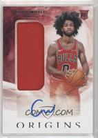 Rookie Jersey Autographs - Coby White