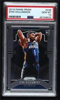 Zion Williamson (Ball Behind Head) [PSA 10 GEM MT]