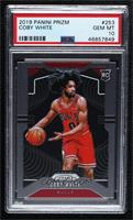 Coby White (Sticking Ball Out) [PSA10GEMMT]