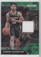 Quinndary Weatherspoon #/56