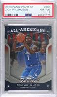 All Americans - Zion Williamson [PSA 8 NM‑MT]