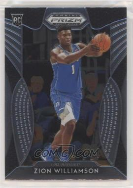 2019-20 Panini Prizm Draft Picks - [Base] #64 - Zion Williamson
