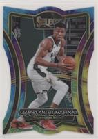 Premier Level Die-Cut - Giannis Antetokounmpo #/25