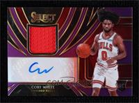 Coby White #96/99