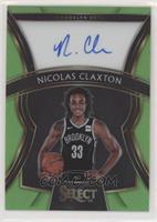 Nicolas Claxton #/99