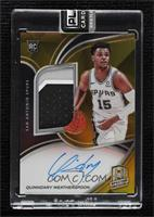 Rookie Jersey Autographs - Quinndary Weatherspoon #/10