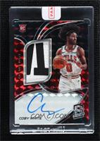 Rookie Jersey Autographs - Coby White [Uncirculated] #/49