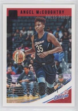 2019 Panini Donruss WNBA - [Base] - Press Proof Purple #1 - Angel McCoughtry /99