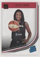 Rated Rookies - Jackie Young [EX to NM]
