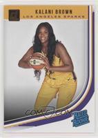 Rated Rookies - Kalani Brown