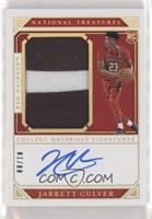 College Materials Signatures - Jarrett Culver #/10