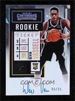 Rookie Ticket - Devin Vassell #9/25