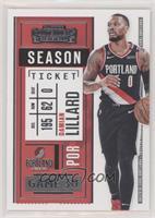 Season Ticket - Damian Lillard