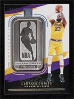 LeBron James #/20