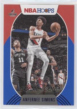 2020-21 Panini NBA Hoops - [Base] - Blue #168 - Anfernee Simons