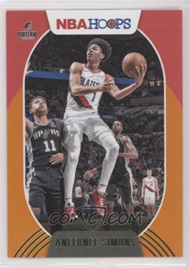 2020-21 Panini NBA Hoops - [Base] - Orange #168 - Anfernee Simons /25