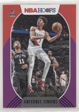 2020-21 Panini NBA Hoops - [Base] - Purple #168 - Anfernee Simons