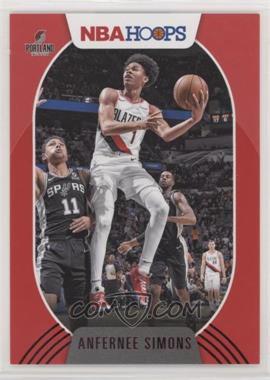 2020-21 Panini NBA Hoops - [Base] - Red #168 - Anfernee Simons /75