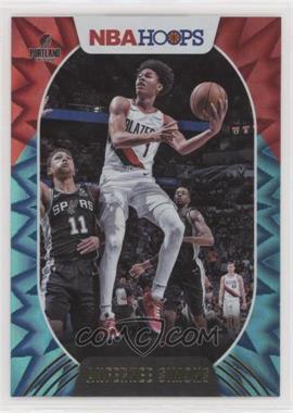 2020-21 Panini NBA Hoops - [Base] - Teal Explosion #168 - Anfernee Simons