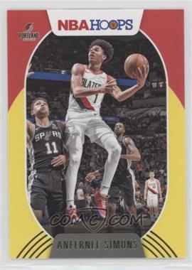 2020-21 Panini NBA Hoops - [Base] - Yellow #168 - Anfernee Simons
