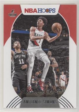 2020-21 Panini NBA Hoops - [Base] #168 - Anfernee Simons